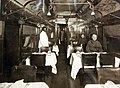 Dining car of the American Dining Car Service, Tours, France, 1919, AEF, WWI (30324115000).jpg