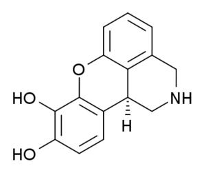 Dinoxyline - Image: Dinoxyline structure