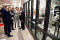 Director Banerjee and UT-Austin President Fenves Show Secretary Kerry Around the Pickle Research Center at the University of Texas at Austin (26074441394).jpg
