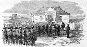 Order of the Medjidie - Distribution of the Medjidie, after the Battle of Cetate (1854)