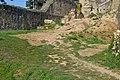 Divín - Divínsky hrad - nádvorie.jpg