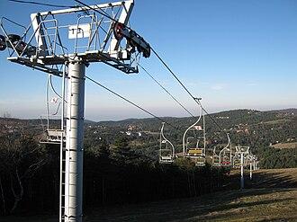 Divčibare - Divčibare view from the ski slopes