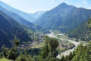 Neelum River River in Pakistan and India