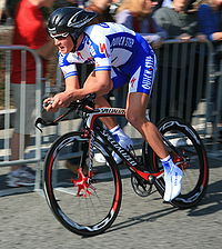 Dmytro Hrabowskyj podczas Tour of California 2008