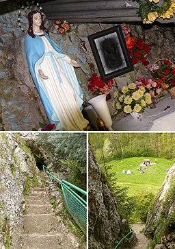 Dolina Kobylańska, kapliczka