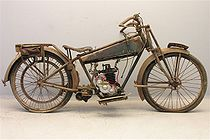 Dollar Model CT (175 cc) uit 1925