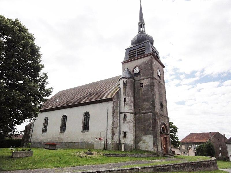 Domjevin (M-et-M) église churches in Meur