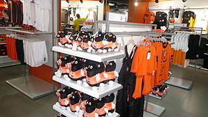 Donbass Arena - Merchandise in the Shakhtar shop