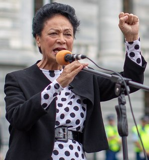 Donna Awatere Huata New Zealand politician