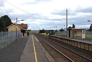 Donnybrook railway station