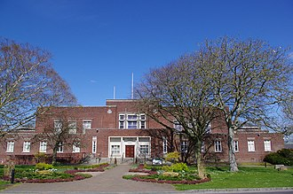 Dorset County Council - Image: Dorchester County Hall (geograph 3007327)