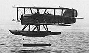 Douglas DT dropping torpedo NAN6-75