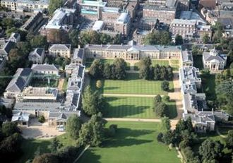 William Wilkins (architect) - Image: Downing College Bird's Eye