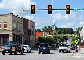 Christiansburg, Virginia - Downtown Christiansburg