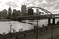 Downtown Pittsburgh and Fort Duquesne Bridge (8899997441).jpg
