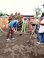 Dr LAMIREE MARTIN Sandrine and her team to clean up hospital's yards at CSB 2 Tanambao Verrerie Toamasina Madagascar (p1).jpg