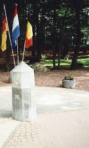Tripoint - Vaalserberg: Tripoint (Germany/Netherlands/Belgium)