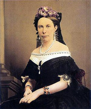 Louise of the Netherlands - Image: Drottning Lovisa av Sverige omkring 1865