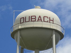 Dubach, Louisiana - Dubach water tower