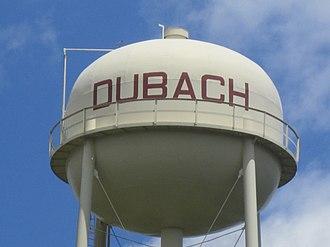 Dubach, Louisiana - Dubach water tower