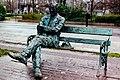 Dublin - Grand Canal - Poet Patrick Kavanagh - geograph.org.uk - 1616492.jpg