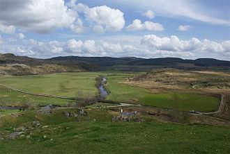 Kilmartin Glen - View of Kilmartin from Dunadd