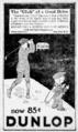 Dunlop golf balls ad, 1922.png