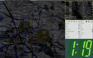 Tiling window manager