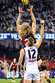 Dyson Heppell and Jackson Trengove marking contest.jpg