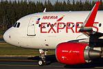 EC-LVQ A320 Iberia Express SCQ 02.jpg