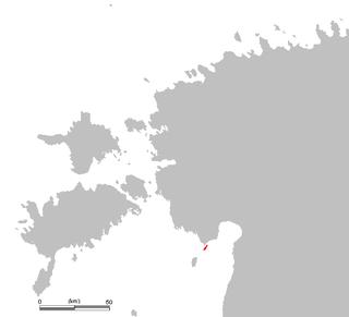 Manilaid village in Pärnu County, Estonia