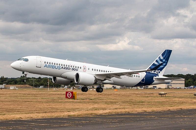 File:EGLF - Airbus A220-300 - C-FFDO (30191481388).jpg
