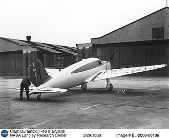 Fibre-reinforced plastic - Fairchild F-46