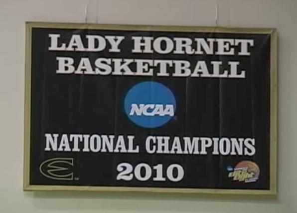 ESU Lady Hornets Champions