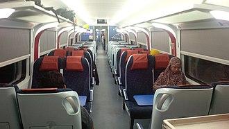 KTM ETS - Interior of KTM Class 93.