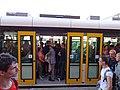 EVO1 na lince 9, Smíchovské nádraží, dveře.jpg