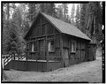EXTERIOR, NORTH VIEW - Giant Forest Lodge Historic District, Cabin A, Three Rivers, Tulare County, CA HABS CAL,54-THRIV.V,1-D-3.tif