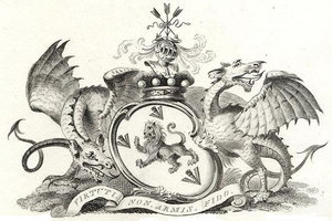Earl of Wilton - Arms of the Earls of Wilton from the Egerton family.