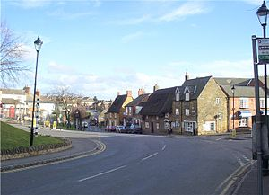Earls Barton - Image: Earls Barton village, Northamptonshire, UK