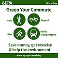 Earth Day - Green Your Commute (16637051683).jpg