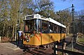 Easily transport at Open Air Museum Arnhem by traditional tramways through the Park - panoramio.jpg