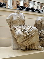 East P. of the Parthenon 07. Hestia - casting in Pushkin museum 01 by shakko.jpg