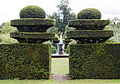 East entrance to West Garden Hatfield House Hertfordshire England.jpg