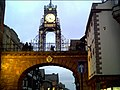 Eastgate Clock in the Evening - geograph.org.uk - 9680.jpg