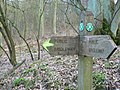 Ebor Way Signpost, Harewood Estate - geograph.org.uk - 154093.jpg
