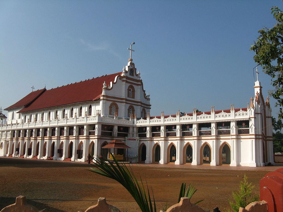 Edathua wikipedia for Religious buildings in india