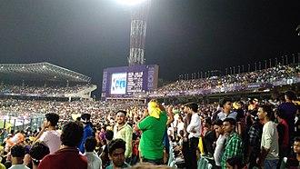 Eden Gardens - Massive crowd during KKR Vs RCB 2017 IPL match.