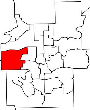 Edmonton-Meadowlark - 2010 boundaries