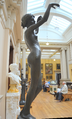 Edward Onslow Ford (1852-1901) - Echo (1895) low right, Lady Lever Art Gallery, June 2013 (9095254459).png