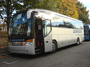 Edwards Coaches - Setra S 415 HD in October 2008